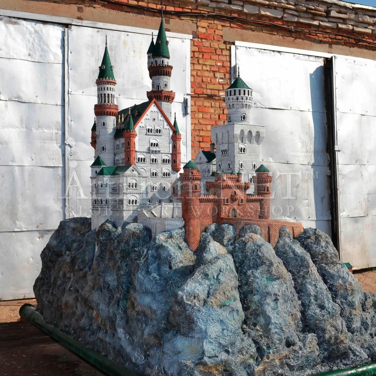 Замок в сад своими руками 72